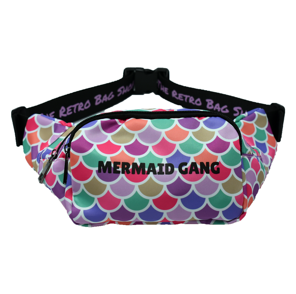 The-Official-Retro-Bag-Shop-Mermaid-Gang-Fanny-Pack-Front-View