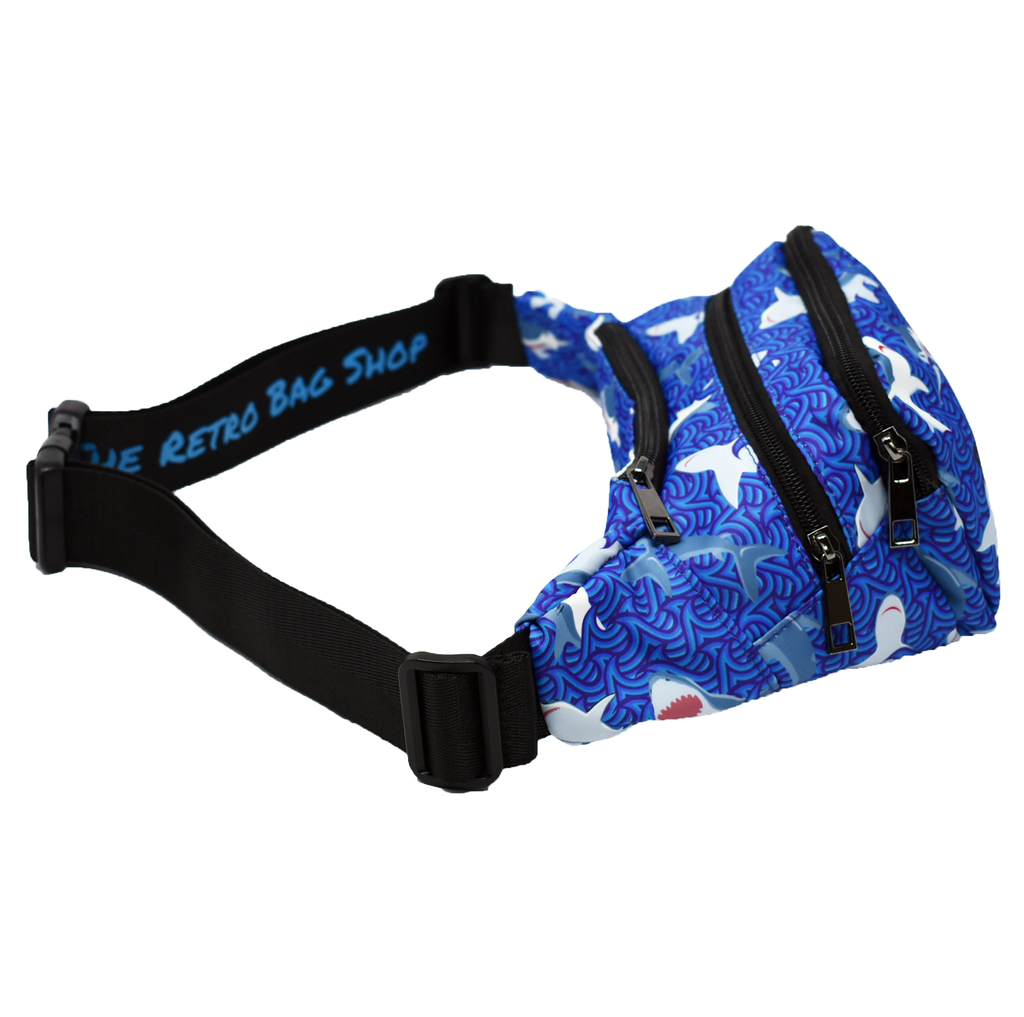 The-Official-Retro-Bag-Shop-Shark-Saturday-Fanny-Pack-Strap