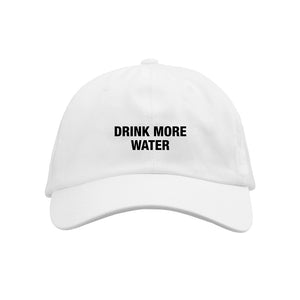 Drink More Water White Dad Hat