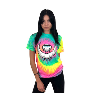 Eye Moon Minty Rainbow Tie Dye T-Shirt
