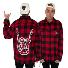 Barbed Wire Horns Red Flannel