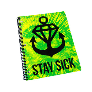 Slime Squad Tie Dye Notebook