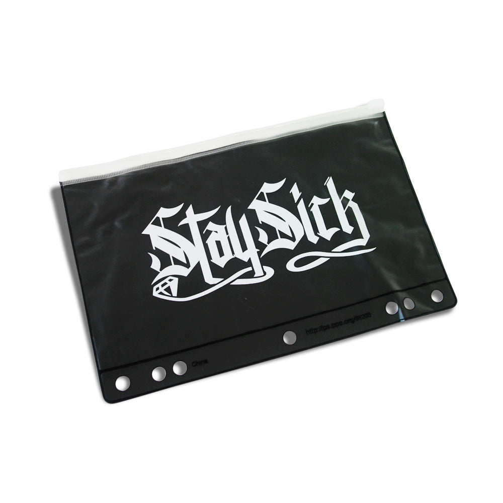 Stay Sick Logo Black Pencil Pouch