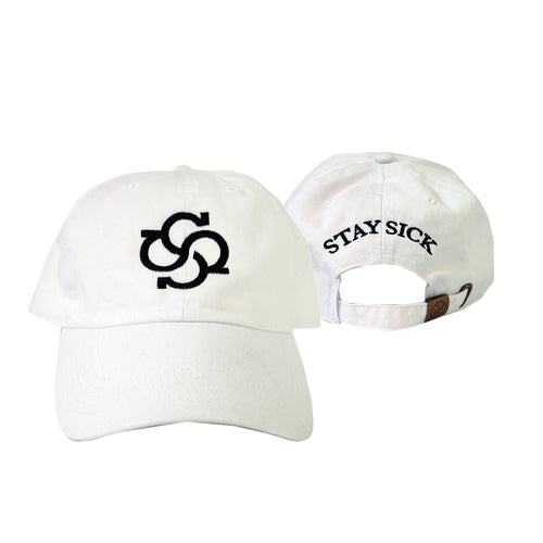 Model Logo White Dad Hat