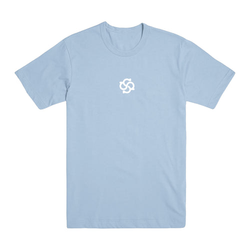 Model Logo Pastel Blue T-Shirt