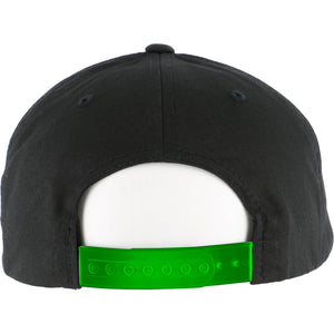 Slime Squad Lime Green/Black Snapback