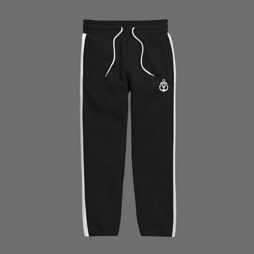 Logo Black Track Pants