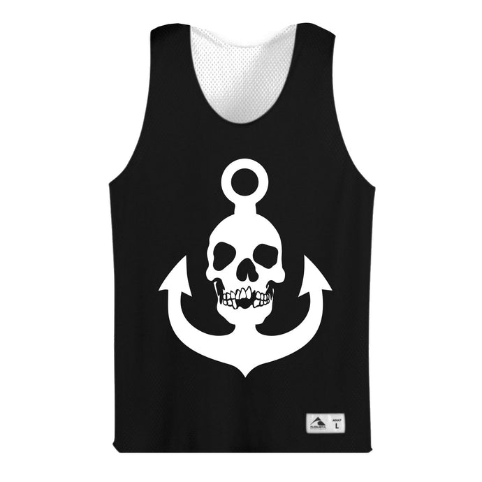 Skull Anchor Black Jersey