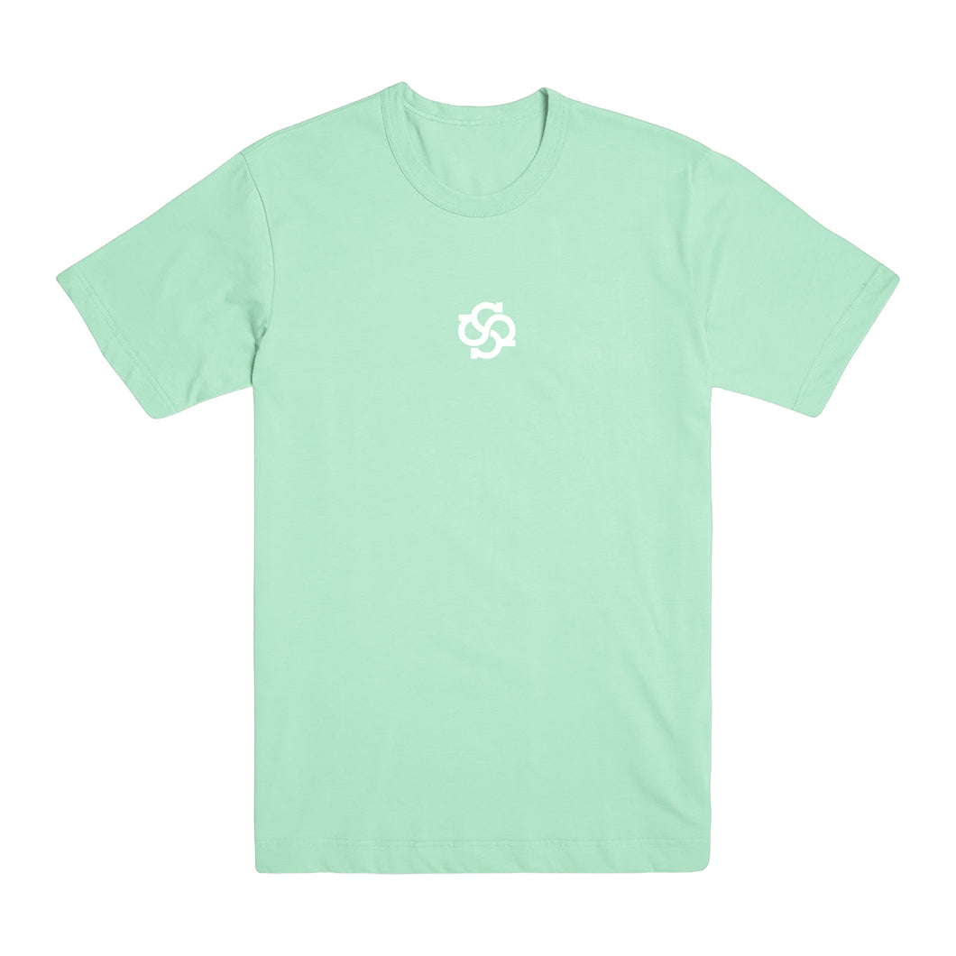 Model Logo Pastel Mint Green