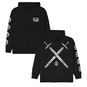 Swords Black Pullover