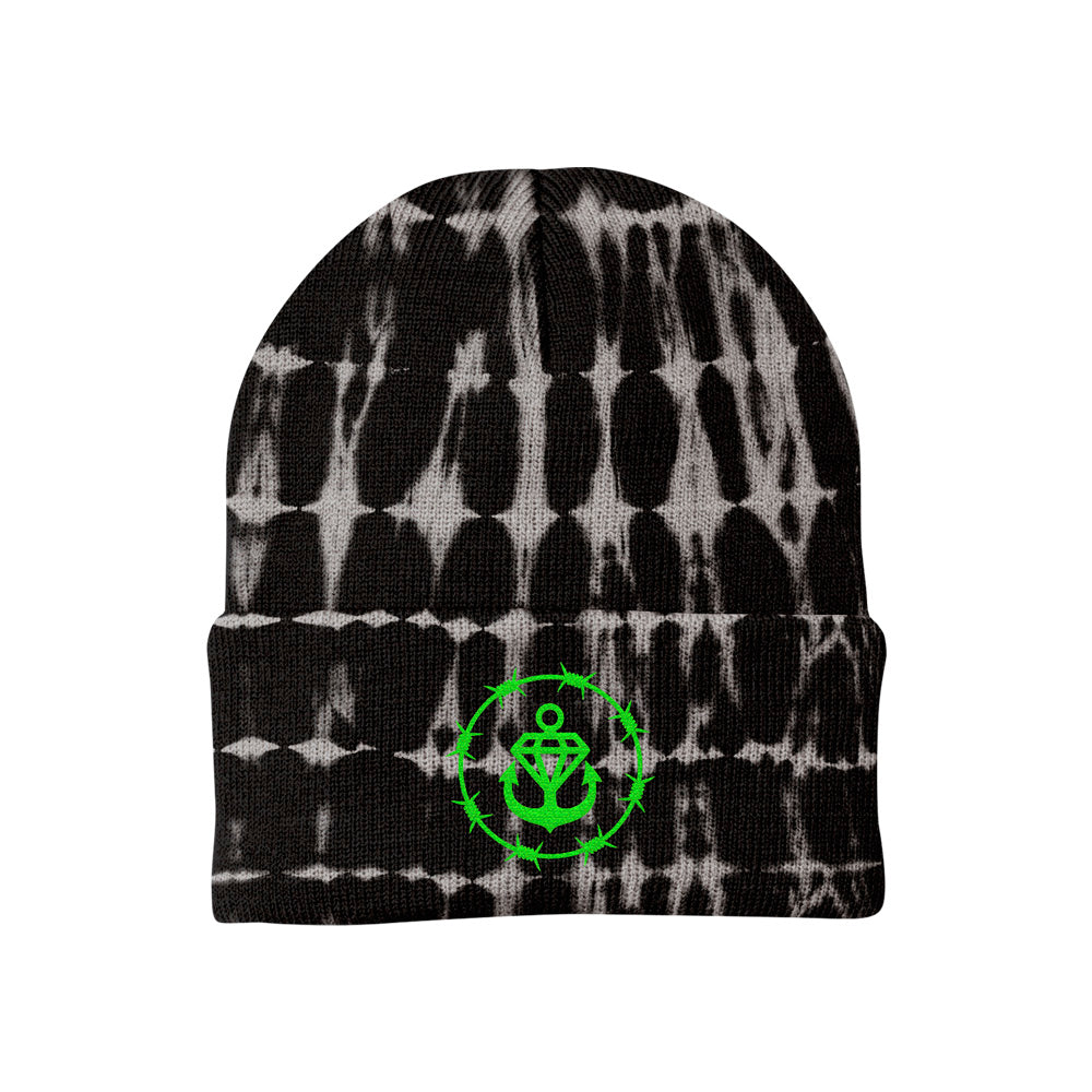 Barbed Logo Dye Sublimated Cuffed Beanie