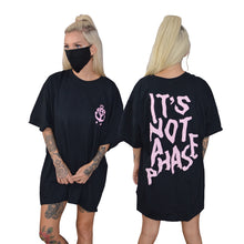 It's Not A Phase Black T-Shirt