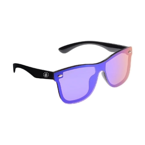 Emblem Mirror Blue Sunglasses