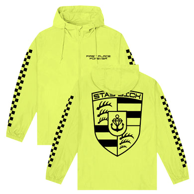 First Place Forever Safety Yellow Pullover Windbreaker