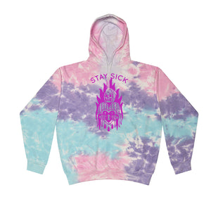 Reaper Cotton Candy Dye Pullover