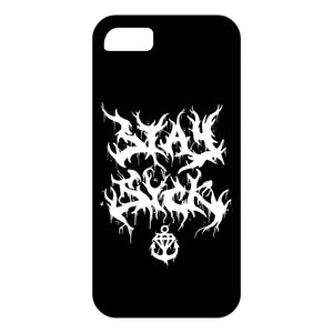 Death Metal Logo Black iPhoneX