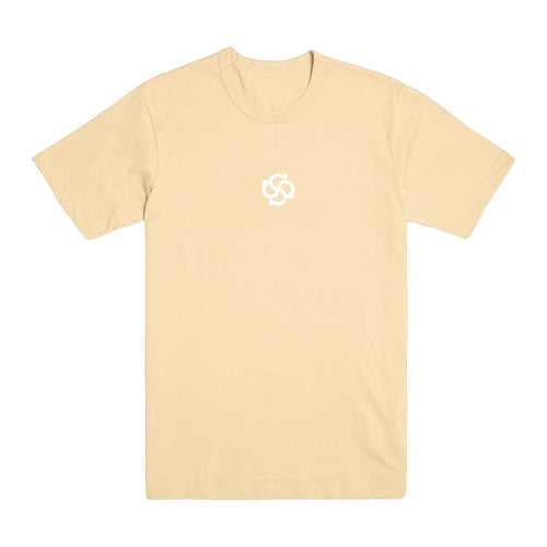 Model Logo Pastel Yellow T-Shirt