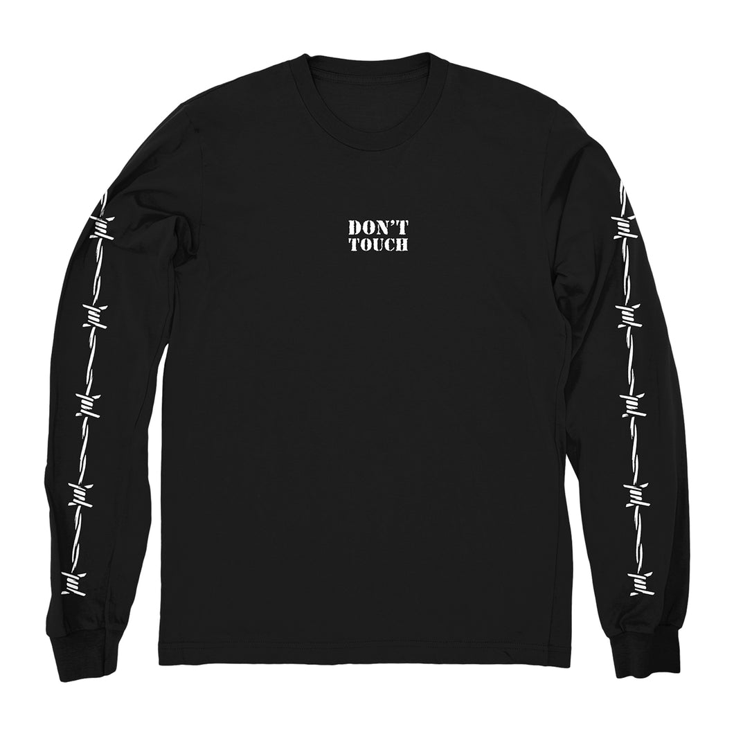 Don't Touch Black Long Sleeve