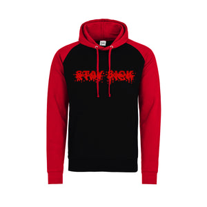 Blur Red/Black Contrast Raglan