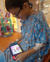 Jacob at Lucile Packard Children's Hospital at Stanford