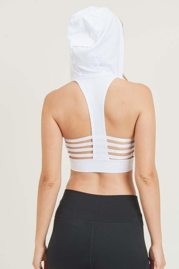 Sports Bra Hoodie (6 Colors)