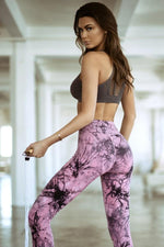 Women's Active Buttery Soft Tie Dye Capri Leggings (S-L) - solowomen
