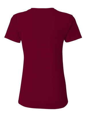 Women's Short Sleeve V-Neck Fusion Perfomance T-Shirt (S-L)(3 Colors)