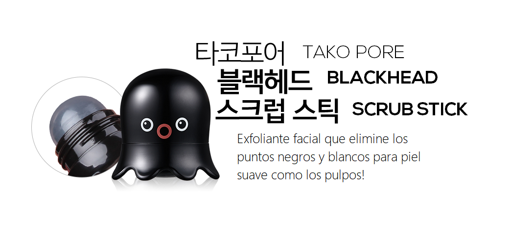 Exfoliante en Barra - Tako Pore Blackhead Scrub Stick