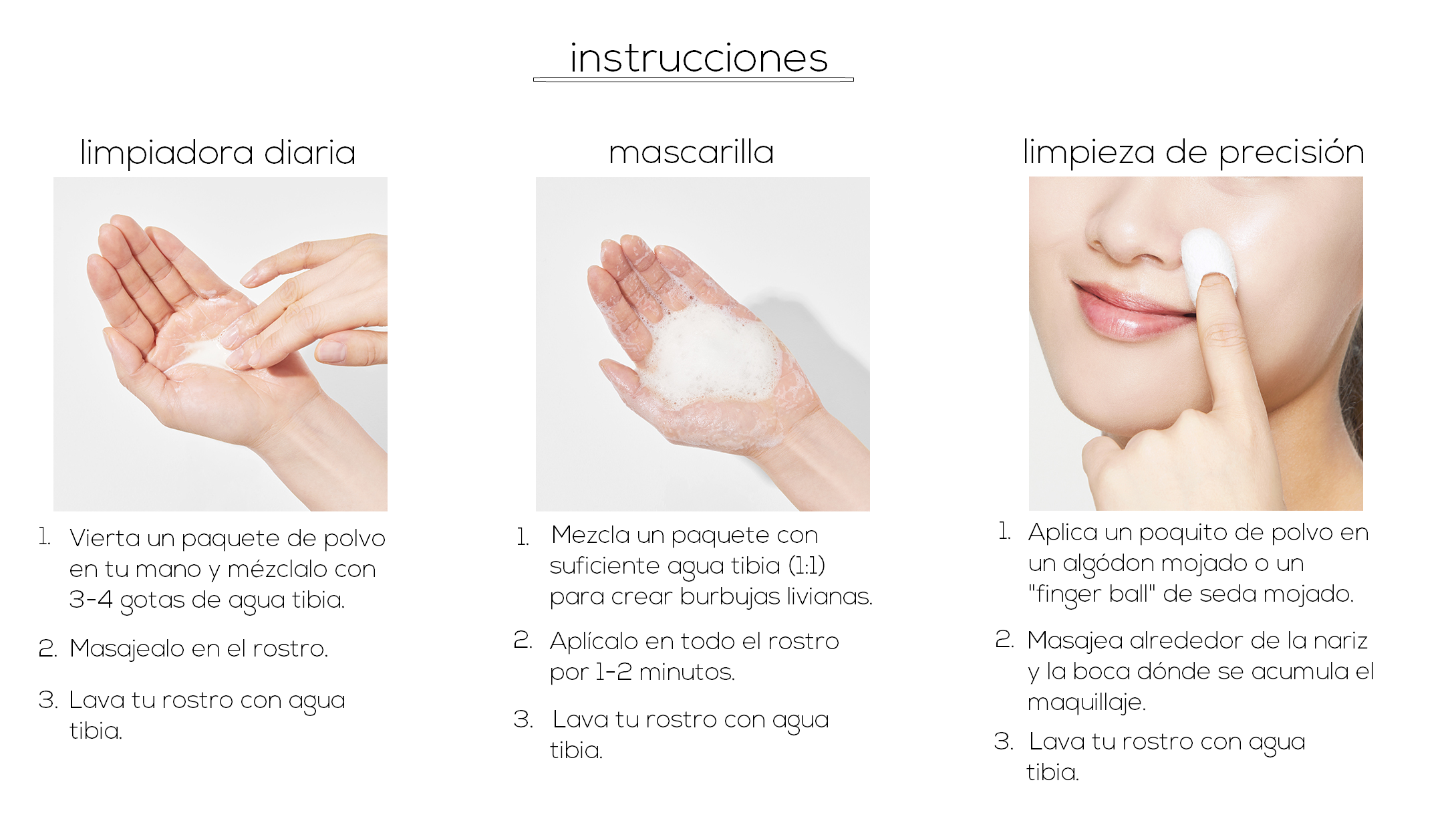 "Limpiadora en Polvo - Low pH Centella Cleansing Powder ""Por encargo"""