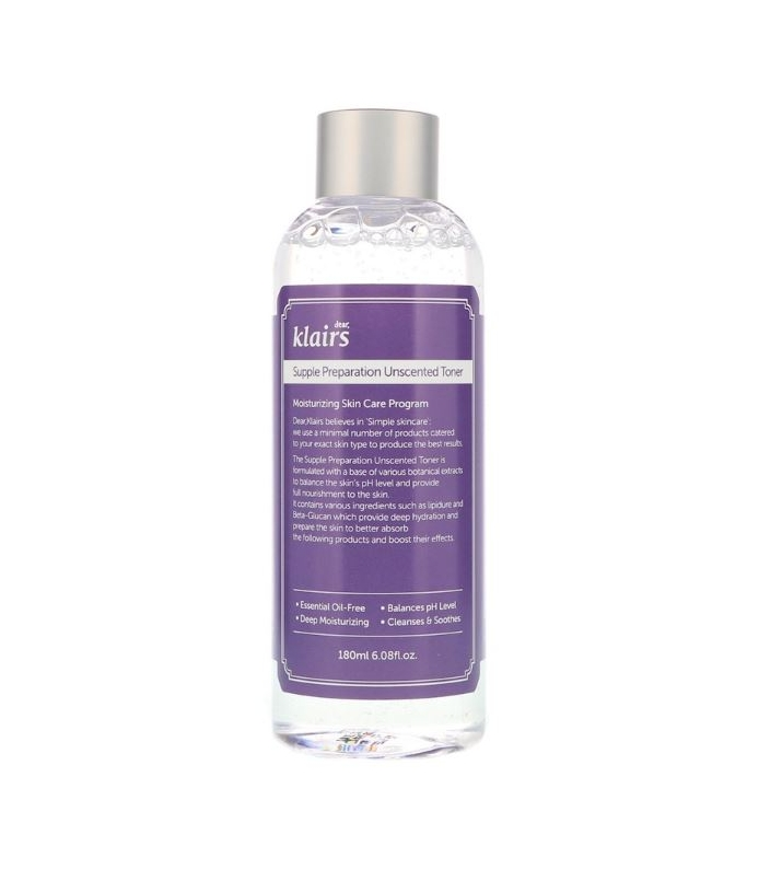 Tónico Suave sin Fragancia - Supple Preparation Unscented Toner