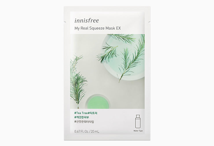 Mascarilla Facial en Hoja - My Real Squeeze Mask