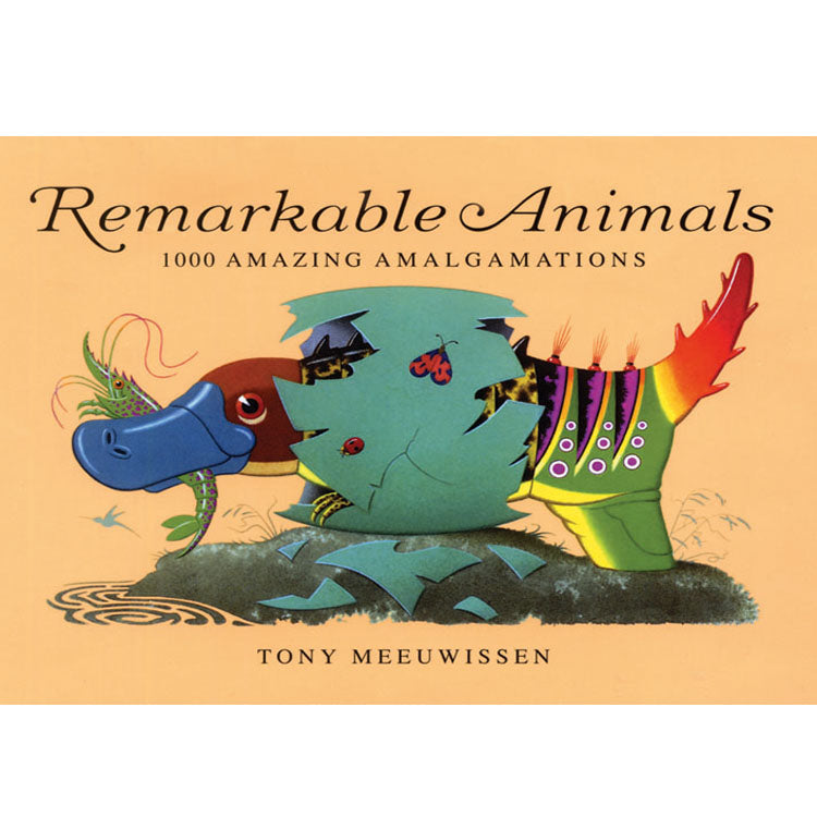 Remarkable Animals - Mix and Match Book