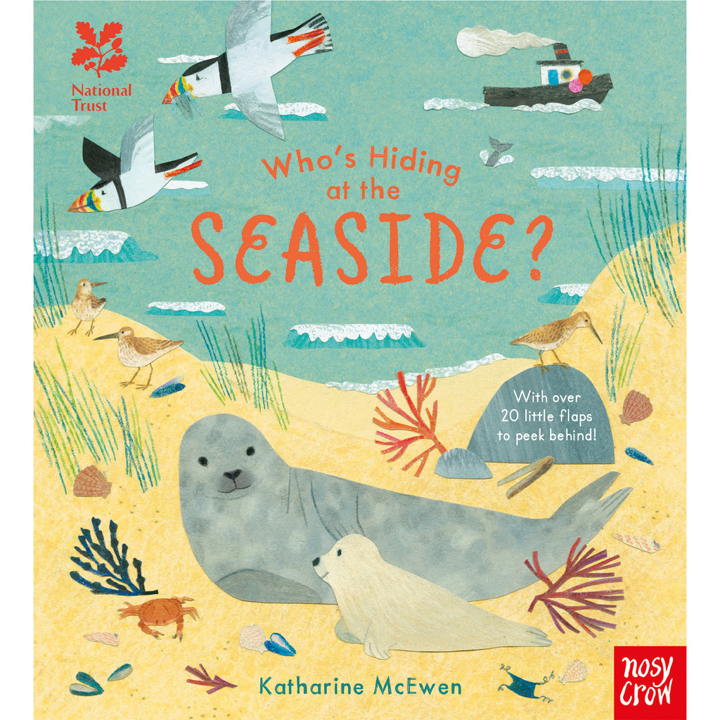 Who's Hiding at the Seaside? Lift the Flap Book