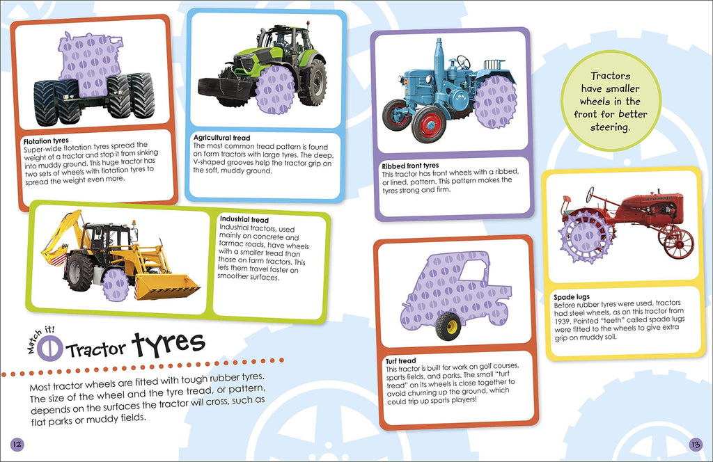 Ultimate Tractor Sticker Book