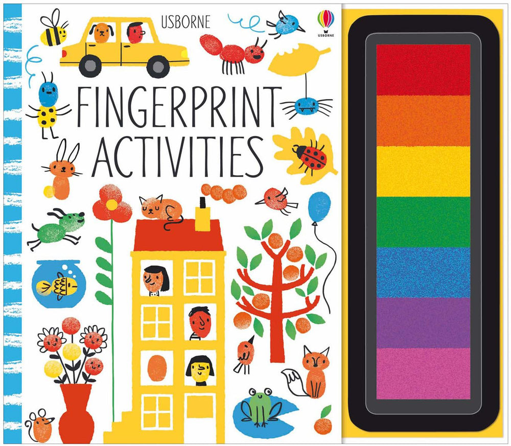 Fingerprint Activities - Interactive Book