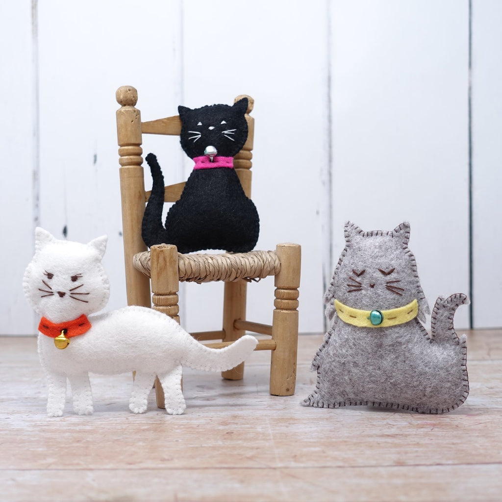 Felt Kitten Sewing Kit