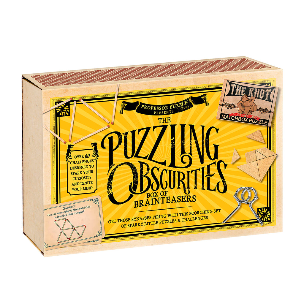 Puzzling Obscurities Box