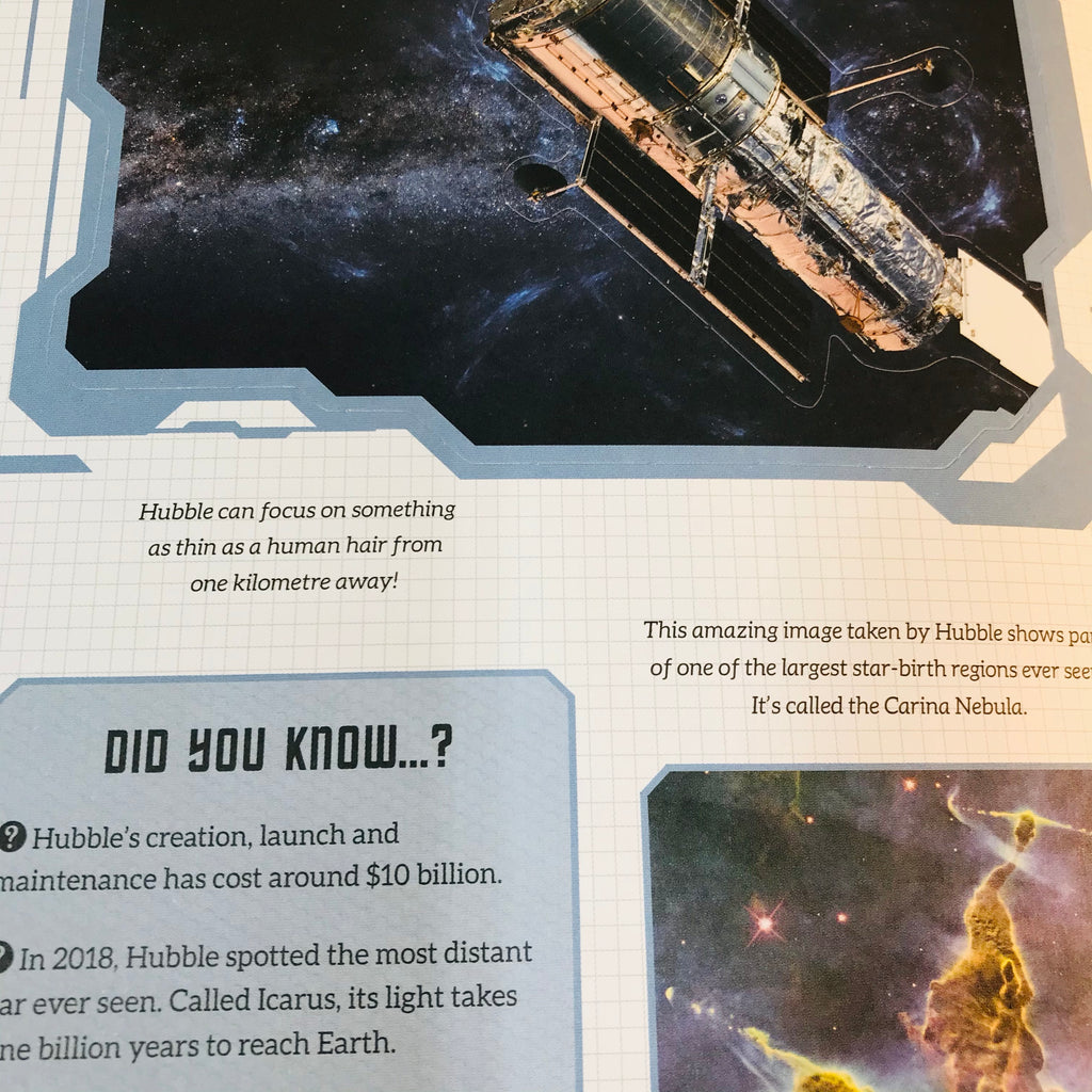Spectacular Journey into Space Interactive Book