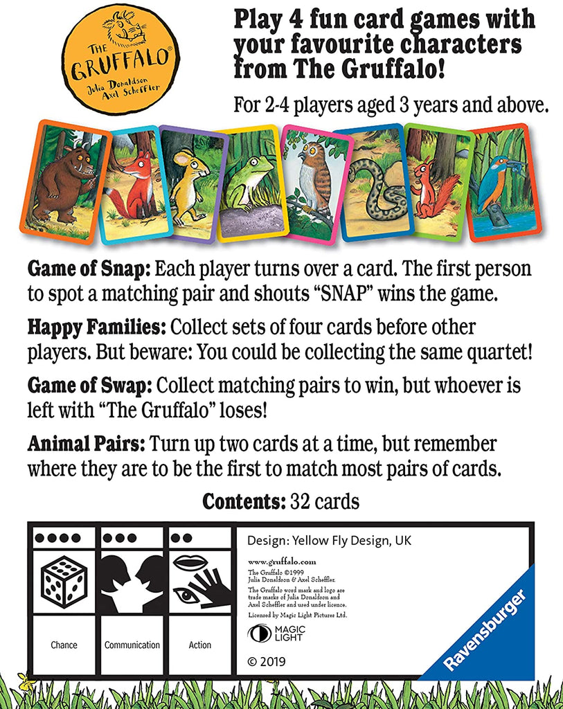 Gruffalo Card Games