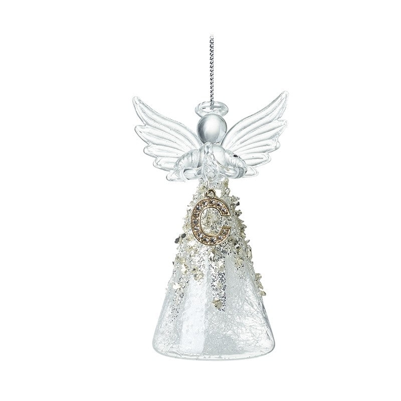 Glass Letter Angel