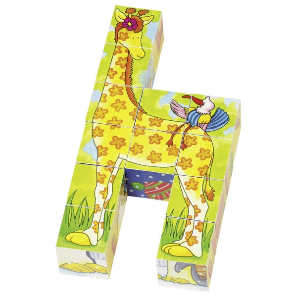 Puzzle Block Funny Animals