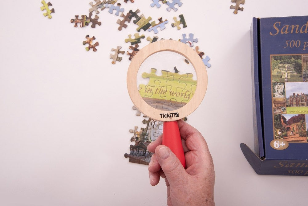 Magnifying Glass Wooden