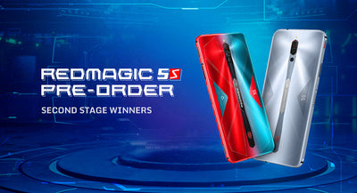 RedMagic: 5th Space Second Stage Winners List