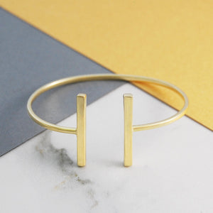 Bar Gold Bangle