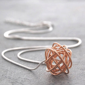 Nest Rose Gold Chain Necklace