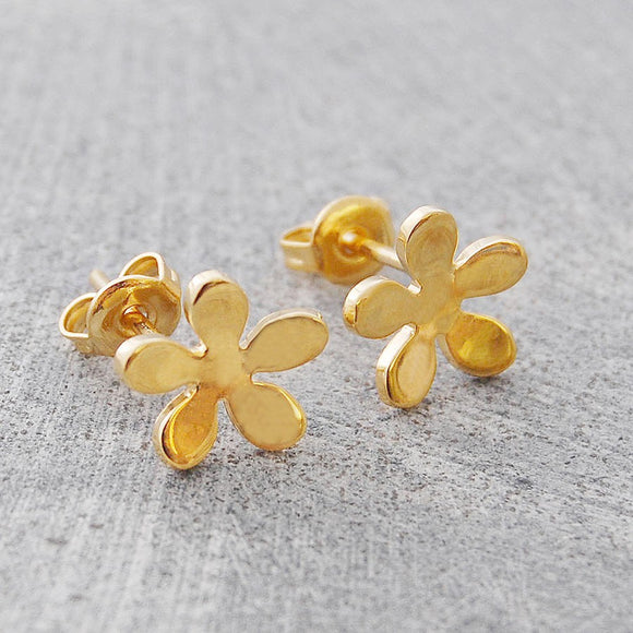Blossom Gold Stud Earrings