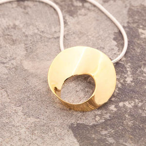 Swirl Gold Necklace
