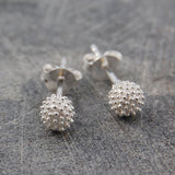 Sycamore Silver Stud Earrings