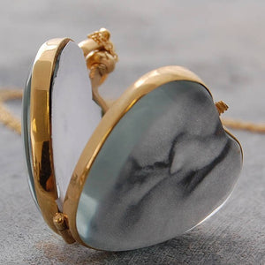 Vintage Gold Heart Locket
