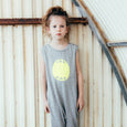 Gray Overall - Yellow Mouth